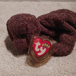 Ty beanie baby Fetcher the dog with tag